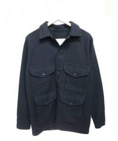 FILSON GARMENT(フィルソンガーメント)の古着「ダブルマッキーノウールジャケット」|ブラック