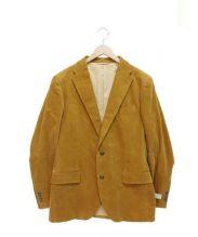 ivory court(アイボリーコート)の古着「ヴィスコンティセットアップジャケット」|ブラウン