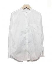 Serra Retreat(セラ リトリート)の古着「バンドカラーシャツ」|ホワイト