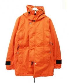 nonnative(ノンネイティブ)の古着「TROOPER HOODED PUFF COAT」|オレンジ