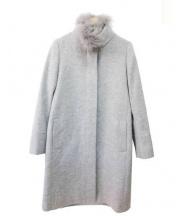 22 OCTOBRE(ヴァンドゥーオクトーブル)の古着「カシミヤ混ウールコート」|グレー