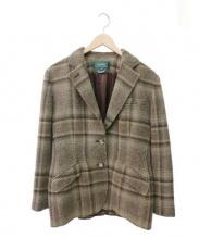 LAUREN RALPH LAUREN(ローレンラルフローレン)の古着「ウールテーラードジャケット」 ブラウン