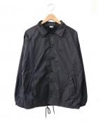 POLeR(ポーラー)の古着「ナイロンコーチジャケット」 ブラック