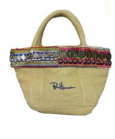 Ron Herman(ロン ハーマン)の古着「コイントートバッグ」|ベージュ