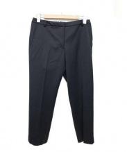INCOTEX(インコテックス)の古着「クロップドパンツ」 ブラック