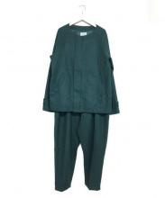 yotsuba(ヨツバ)の古着「セットアップジャケット」|グリーン