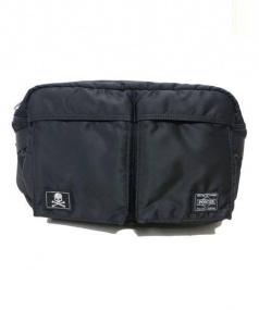 PORTER×Mastermind JAPAN(ポーター×マスターマインド・ジャパン)の古着「ウエストバッグ」|ブラック