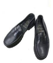 Caminando(カミナンド)の古着「レザーローファー」|ブラック