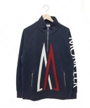 MONCLER × KITH(モンクレール × キス)の古着「ハーフジップスウェット」|ネイビー