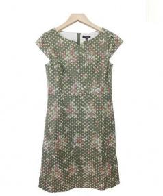 TOCCA(トッカ)の古着「刺繍ワンピース」|グリーン