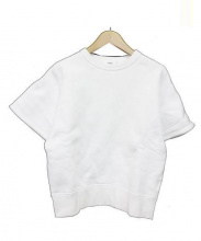 HYKE(ハイク)の古着「半袖スウェット」|ホワイト