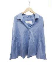iriiri(イリイリ)の古着「ラスティングフィットラインシャツ」|ブルー