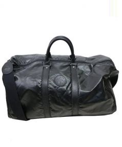 HUNTING WORLD(ハンティングワールド)の古着「ナイロンボストンバッグ」|ブラック