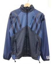 adidas Originals by White Mountaineering(アディダス オリジナルス バイ ホワイトマウンテニアリング)の古着「ジャケット」 ネイビー×グレー