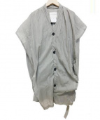 STEPHAN SCHNEIDER(ステファン・シュナイダ)の古着「デザインコットンジャケット」|グレー