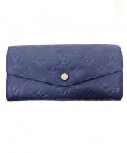 LOUIS VUITTON(ルイ・ヴィトン)の古着「2つ折り財布」|ネイビー