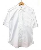 Black Fleece(ブラックフリース)の古着「半袖オックスフォードシャツ」|ホワイト