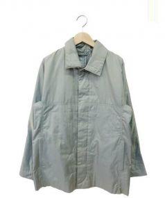 PLEATS PLEASE(プリーツ プリーズ)の古着「ナイロンジャケット」 玉虫色