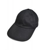 VETEMENTS(ヴェトモン)の古着「Parking Tour Embroidy Cap」 ブラック