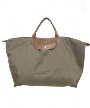 LONGCHAMP(ロンシャン)の古着「ナイロントートバッグ」|ブラウン