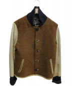 SLOWGUN(スロウガン)の古着「ブルゾン」 ブラウン