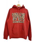 SUPREME(シュプリーム)の古着「Fuck Em All Hooded Sweatshirt」|レッド