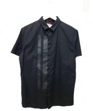 ato(アトゥ)の古着「半袖シャツ」|ブラック