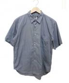 COMME des GARCONS HOMME DEUX(コムデギャルソンオムデュー)の古着「半袖デザインシャツ」|グレー