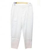 DES PRES(デプレ)の古着「タックパンツ」|ホワイト