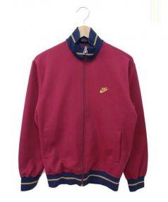 NIKE(ナイキ)の古着「ヴィンテージトラックジャケット」|ボルドー