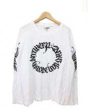 DRIES VAN NOTEN(ドリスヴァンノッテン)の古着「プリントカットソー」|ホワイト