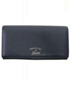 GUCCI(グッチ)の古着「2つ折り長財布」|ブラック