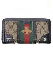 GUCCI(グッチ)の古着「2つ折り財布」|ブラウン