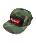Supreme(シュプリーム)の古着「Wildlife Side Pocket Camp Cap」 グリーン