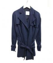 CLANE(クラネ)の古着「スプリングフレアトレンチ」|ネイビー
