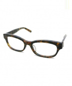 KANEKO OPTICAL(金子眼鏡)の古着「伊達眼鏡」 ブラウン