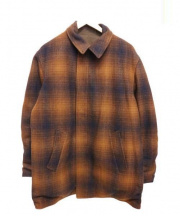 PENDLETON(ペンドルトン)の古着「Reversible Wool Coat」|ブラウン