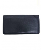 LOUIS VUITTON(ルイ・ヴィトン)の古着「2つ折り長財布」|ブラック