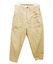 GUNG HO(ガンホー)の古着「イージーベイカーパンツ」|ベージュ