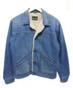 Wrangler(ラングラー)の古着「シェルパジャケット」 インディゴ