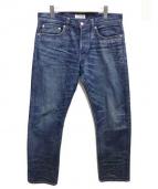 Ron Herman(ロンハーマン)の古着「USED加工セルヴィッチデニムパンツ」|インディゴ