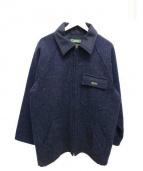 BLUEY(ブルーイ)の古着「ウールジップコート」|ネイビー