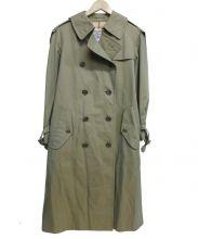 Burberrys(バーバリーズ)の古着「トレンチコート」|玉虫グリーン
