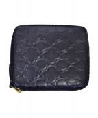 COMME des GARCONS(コムデギャルソン)の古着「ラウンドファスナー財布」 ブラック