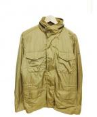 Henry Cottons(ヘンリーコットンズ)の古着「ジップアップジャケット」 ベージュ