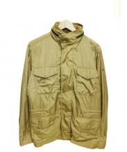 Henry Cottons(ヘンリーコットンズ)の古着「ジップアップジャケット」|ベージュ
