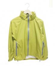 MARGARET HOWELL(マーガレットハウエル)の古着「GORE-TEXマウンテンパーカー」|黄緑