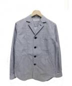 JOHNBULL(ジョンブル)の古着「グレンチェックシャツジャケット」|グレー