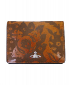 Vivienne Westwood(ヴィヴィアンウエストウッド)の古着「カードケース」|オレンジ