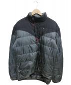 KLATTERMUSEN(クレッタルムーセン)の古着「リブ2.0セーター」|ブラック×カーキ